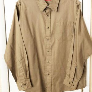Wrangler shirt mens new size L cotton polyester